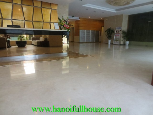 Hoa Binh Green apartment for rent in Duong Buoi street, Ba Dinh dist, Ha Noi