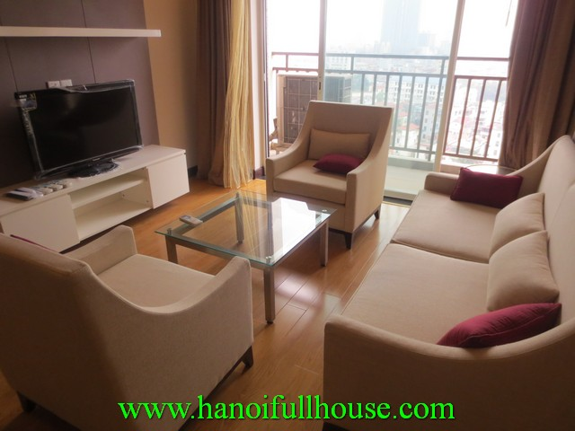 The best apartment for rent in Hoa Binh green building, Ba Dinh dist, Ha Noi