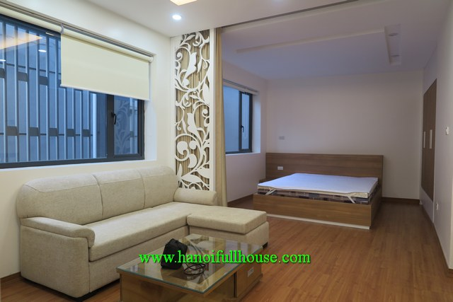 A brandnew two-bedroom flat for rent on Dao Tan str, Ba Dinh dist, Ha Noi, $750/month