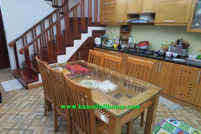House in Hoan Kiem, four bedroom, furnished and Western designed style