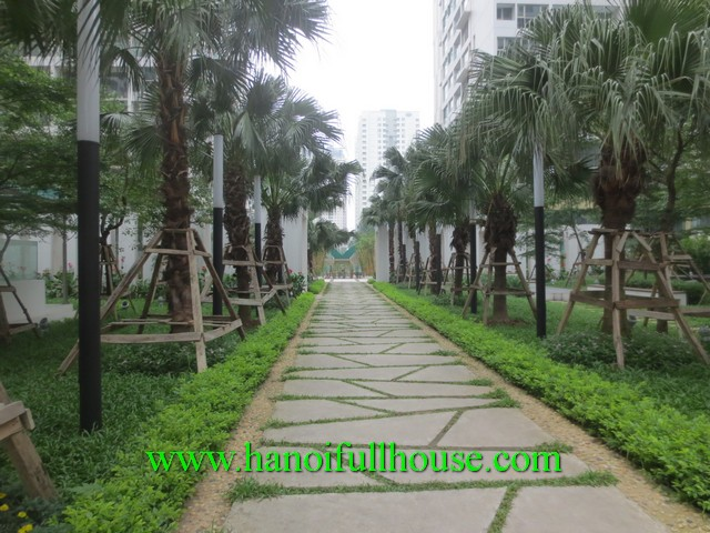 Beautiful apartment rental at Mandarin Garden Hoang Minh Giam, Cau Giay dist
