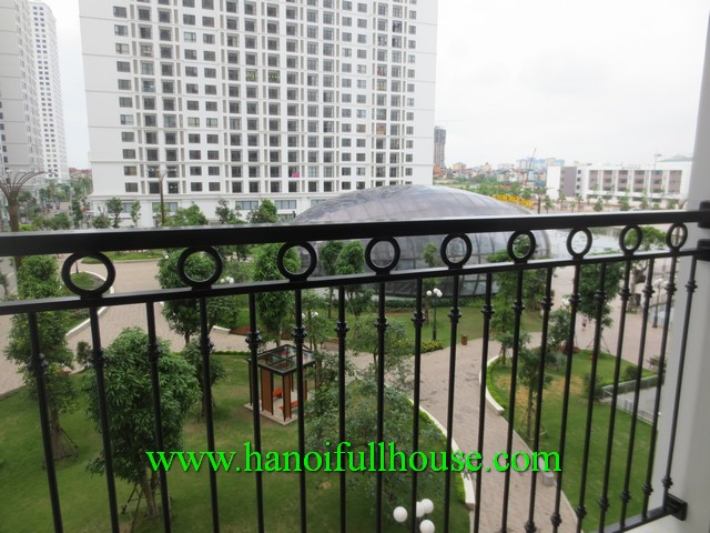 3 bedroom, 2 bath beautiful apartment in Times City Ha Noi for rent