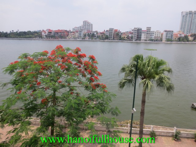 New apartment with one bedroom for rent in Xuan Dieu street, Tay Ho dist, Ha Noi