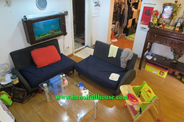Hai Ba Trung- A quiet house, 2 bedroom, yard and nice living room for lease