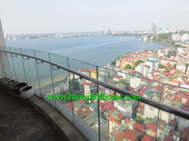 Cheap two bedrooom apartment in Golden Westlake-Hanoi, Vietnam