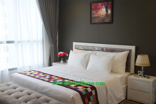 Modern designed 3 bedroom apartment in park-Hill Minh Khai st, Ha Noi