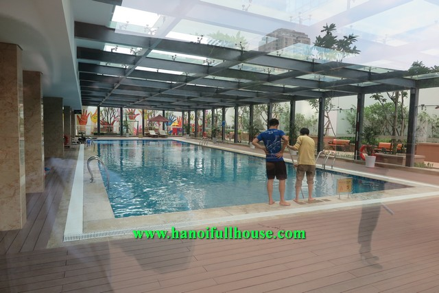 Brand-new two bedroom apartment rental in Nguyen Chi Thanh Vincom tower