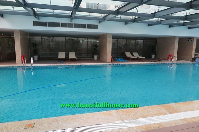 Rentals an apartment 02 bedroom, furnished on high floor of Vincom-Nguyen Chi Thanh