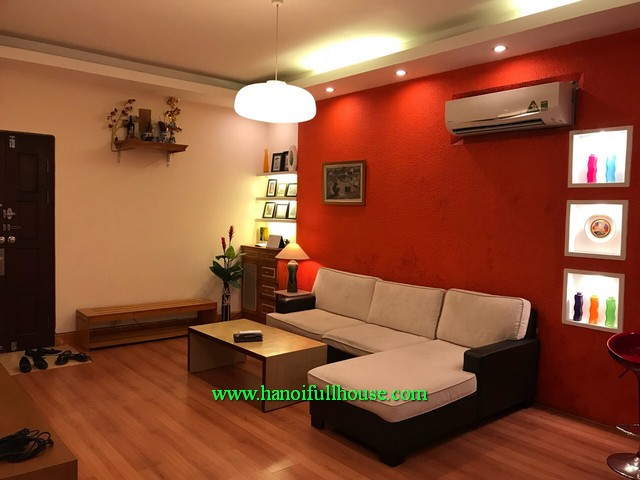 2 bed apartment, luxury furniture, cheapest rental in Dong Da district, Hanoi