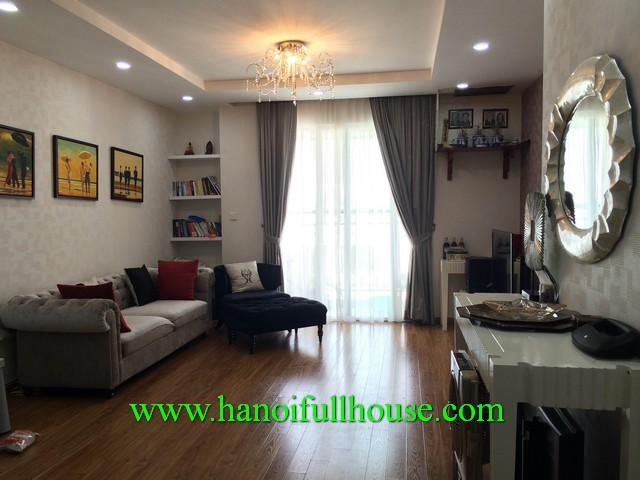 2 bedroom luxurious apartment rental in Times City-Hanoi