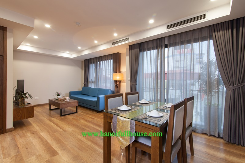 Modern and high-quality 1BR apartment in Dong Da for rent