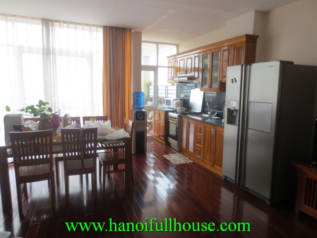 2 bedroom very beautiful serviced apartment nearby Ha Noi Nikko hotel for lease