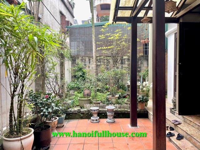 An European style house in Hanoi for lease. 3 storey house with full furnitures