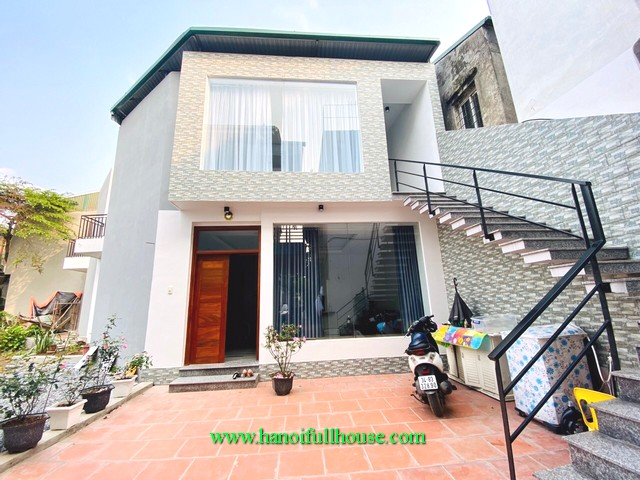 A new apartment on second floor of the house in Au Co street, Tay Ho for lease