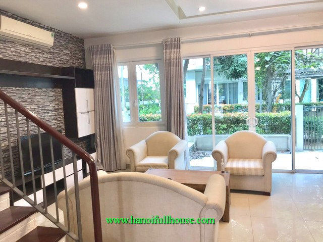 Furnished semi-house in Parkcity Hanoi- A wonderful home for Expats