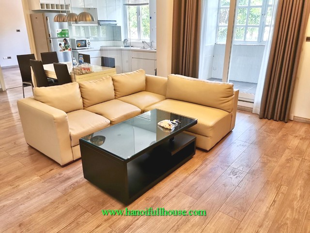 What a beautiful apartment in Hoan Kiem! two bedroom, furnished, lots of light and big balcony