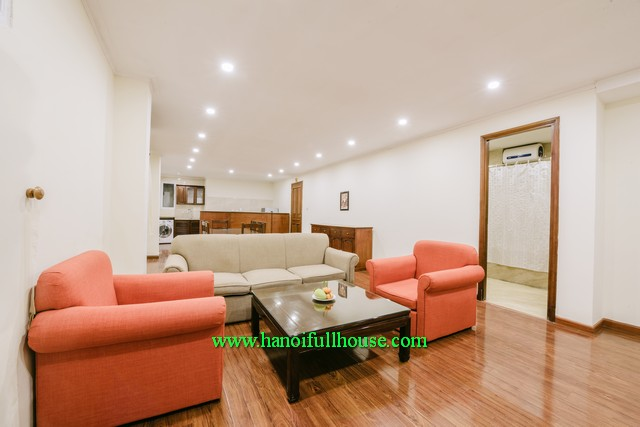 2-bedroom modernly furnished apartment in center of Hanoi Vietnam