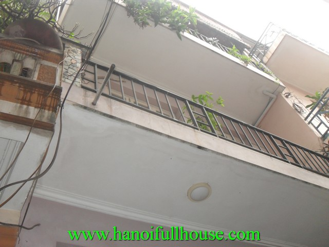 Cheap house for rent in Hoan Kiem dist, Hanoi, Vietnam. 2 bedrooms, fully furnished