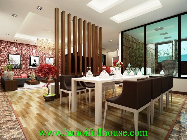 Rental an apartment with 2 bedrooms in Star Tower, Cau Giay dist, Ha Noi
