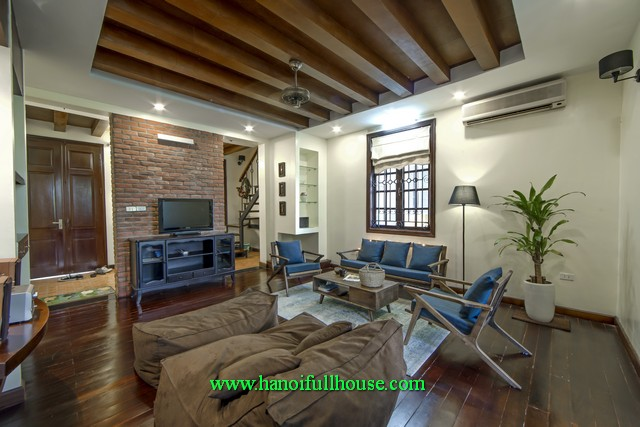 A French style house in Hanoi center, 2 bedroom, fully furnished