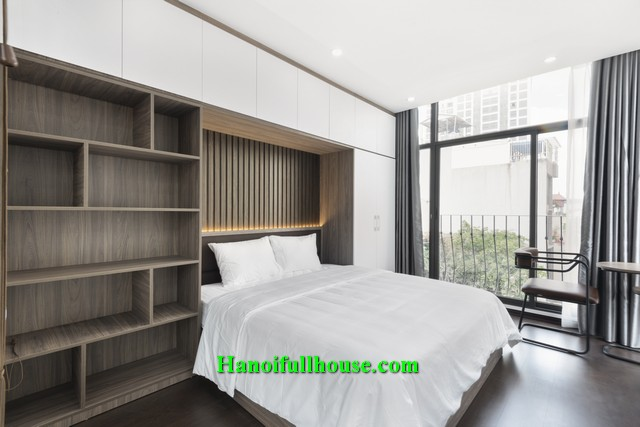 Wow! Beautiful design of one bedroom serviced apt near Lotte Tower for rent