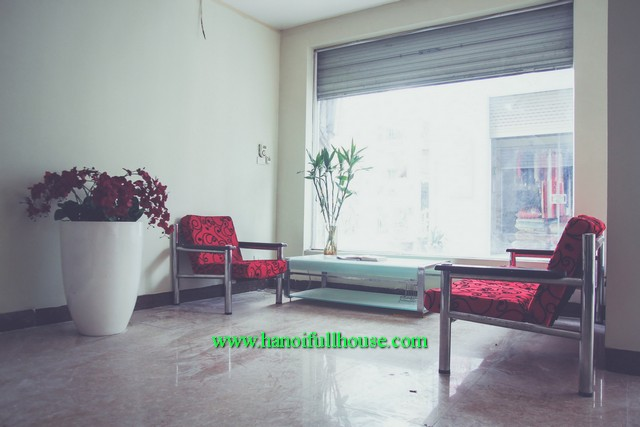 Terrace house with three bedroom fully furnished in Ngoc Lam st, Long Bien dist