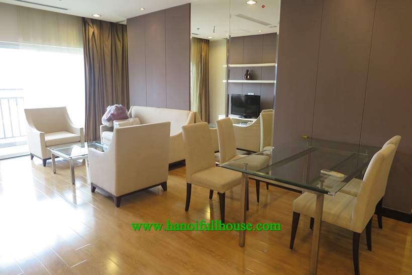 Fully furnished apartment with japanese style in Hoa Binh Green ,Buoi Street