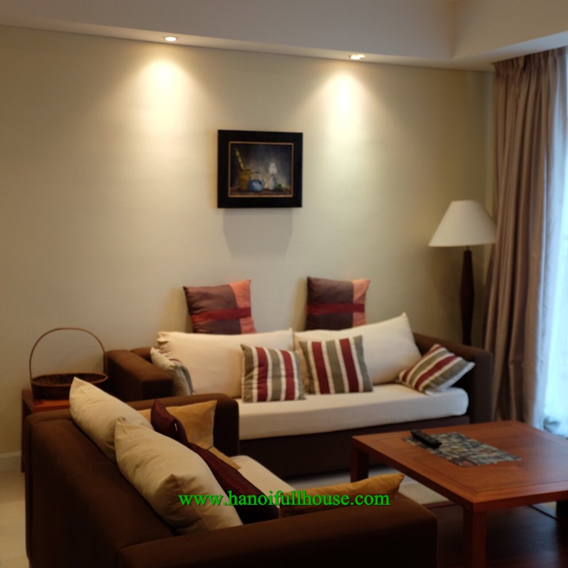 Super cheap apartment in Pacific Place building - Ly Thuong Kiet street, 2 bedrooms, furnished for rent.