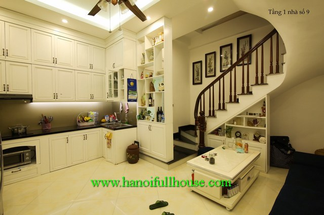 European 3-bedroom house in the center of Ha Noi for lease