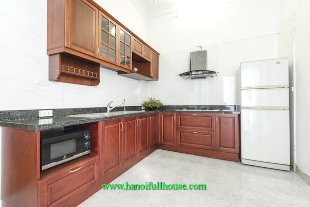 4 BR-modern house in Long Bien district for lease. A French style house with luxury furnishings