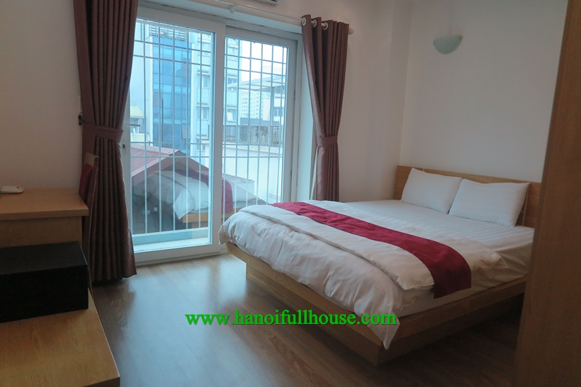 One bedroom Serviced apartment for rent near Lotte Center