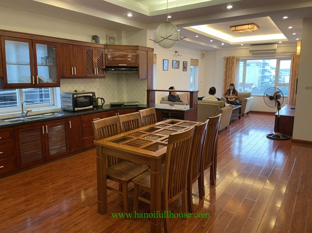 2 bedroom serviced apartment with a lots of light on Trinh Cong Son str