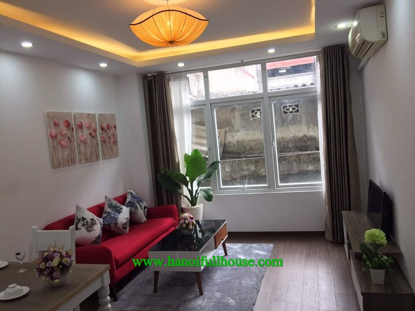 Let to rent one bedroom serviced apartment in Ba Dinh Center