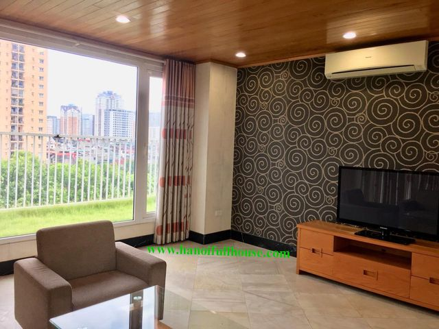 Beautiful duplex apartment with full service in Dong Da center