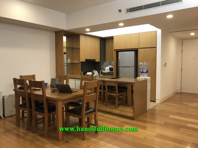 3 bedroom apartment in hight floor of Indochina Plaza Hanoi - 241 Xuan Thuy street for rent.