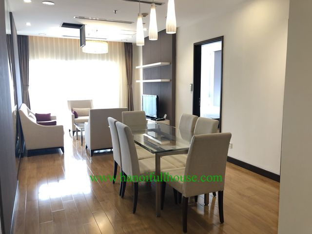 Wonderful apartment for rent in Hoa Binh Green 376 Buoi street