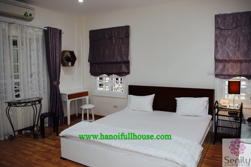 Serviced apartment for rent in Ba Dinh, at Yen The street