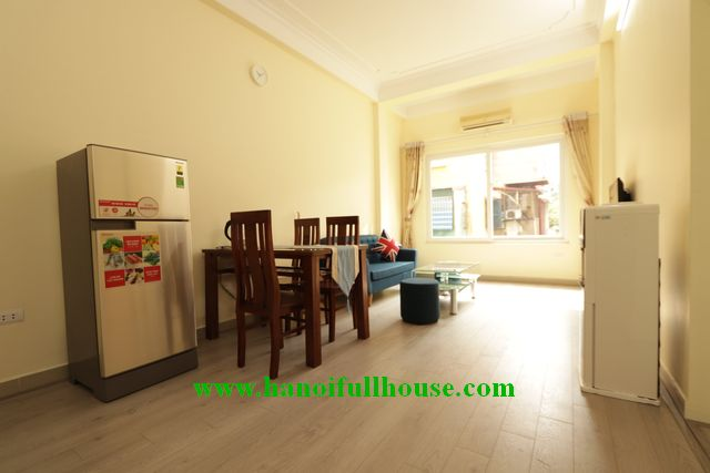Full furnished apartment with big balcony near Lotte center for rent
