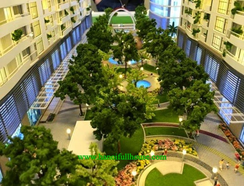 For rent 2 bedroom apartment in Trang An Complex, Phung Chi Kien, Cau Giay