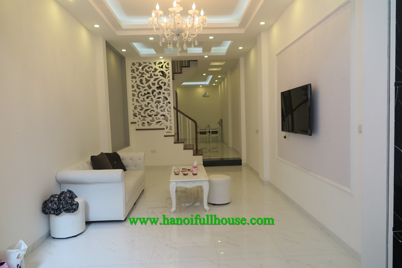 For rent 6 bedroom House full furniture with well equipment in Ba Dinh dist