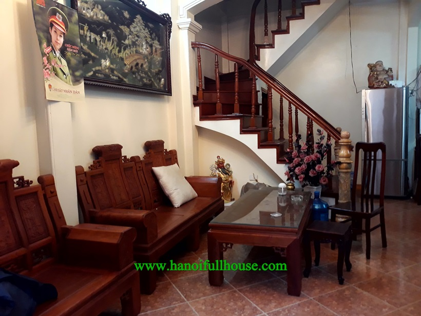 550$ for 4 bedroom house close to Wellspring school in Long Bien