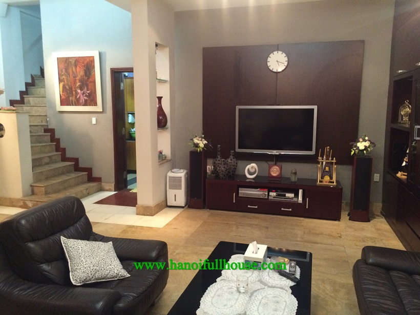 Ba Dinh housing for rent 3 bedrooms, with big terrace
