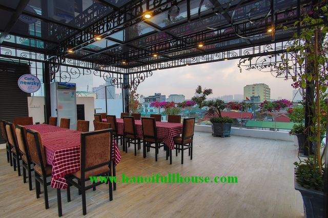 Brand new apartment with spacious terrace near Hanoi National University