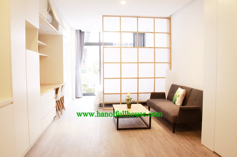 Brand new apartment for rent in Sky Garden serviced apartment Thuy Khue