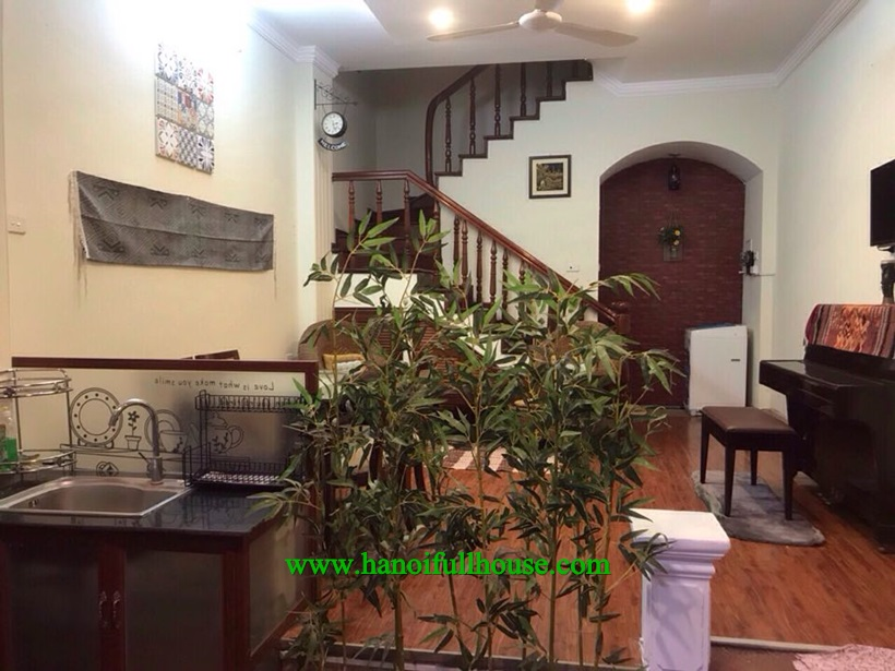 2 bedroom house, full furnished, for rent in Ba Dinh near Lotte, Daewoo Hotel