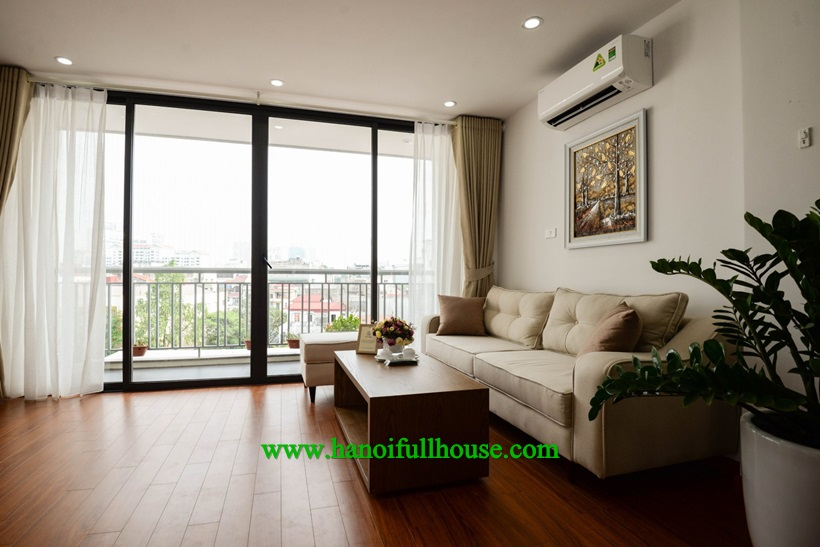 Brand new apartment and good quality in Ba Dinh for rent