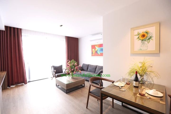 New and good price apartment for one bedroom on Doi Can street, Ba Dinh center