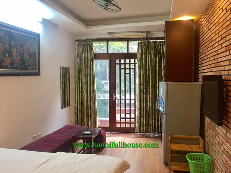 Do you believe a 330$ apartment rental in Hoan Kiem dist? Its nice balcony, furnished