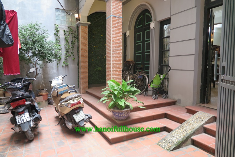 Ba Dinh housing 4 bedroom with yardgarden, natural light