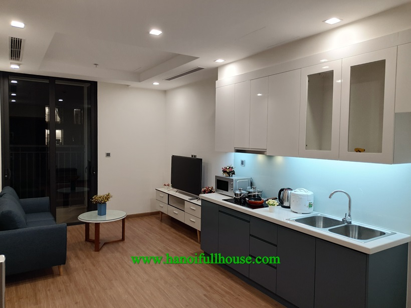 Nice 2 bedroom apartment for rent in Vinhomes Greenbay,Me Tri ward, Ha Noi